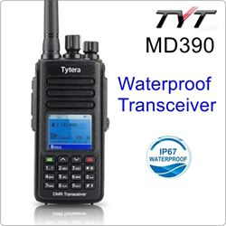 Picture of TYT MD-390 136-174MHz IP67 Waterproof Handheld Transceiver DMR Digital Walkie