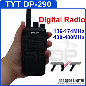 TYT DP290 dual band 5W 16Channel Scrambler VOX Digital DPMR 2-Way Radio