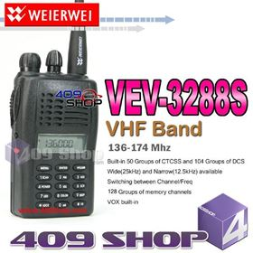 Picture of WEIERWEI VEV-3288S 136-174Mhz VHF RADIO+Earpiece
