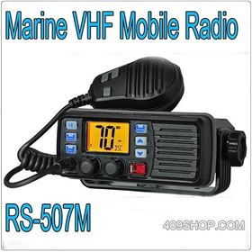 New Arrival Marine VHF Mobile Radio RS-507M Walkie Talkie Radio Transceiver Ham