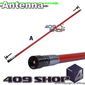 Picture of NAGOYA NL-702RED-L Dual Band Red Antenna
