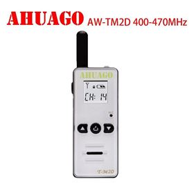AHUAGO AW-TM2D mini Handheld 128CH Two-way Radio Walkie