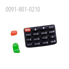 Picture of RUBBER KEYPAD FOR KG-UV6D