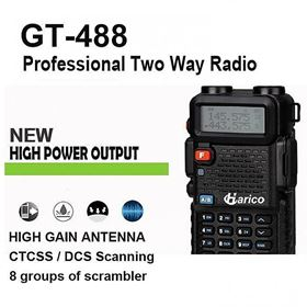 Picture of HARICO GT-488 100% HIGH POWER w/Scrambler DUAL BAND Ham radio