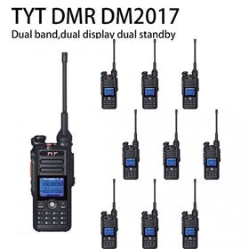 10 x TYT MD-2017 Dual Band DMR/Analog 144/430 Radio(Not include shipping)
