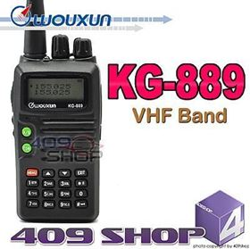 WOUXUN KG-889 VHF 136-174Mhz 2-Way Radio
