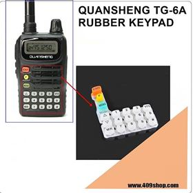 0091-801-0213 Rubber Keypad for QUANSHENG TG-6A TG6A