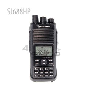 Surecom SJ688HP 12w Two Way Radio High Power Out Put Walkie Talkie with Vhf Uhf