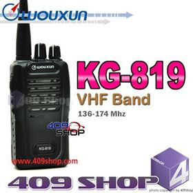 Picture of WOUXUN KG-819 VHF 136-174Mhz Two-Way Radio