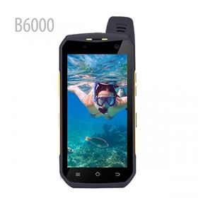 Picture of B6000 4G LTE Zello PTT Walkie Talkie Octa Core 4GB RAM 64GB ROM 5000mAh NFC Android 6.0 IP68